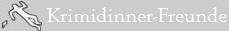 Krimidinner Freunde Logo